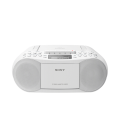 BOOMBOX CD/CASSETE CON RADIO BLANCO SONY OUTLET